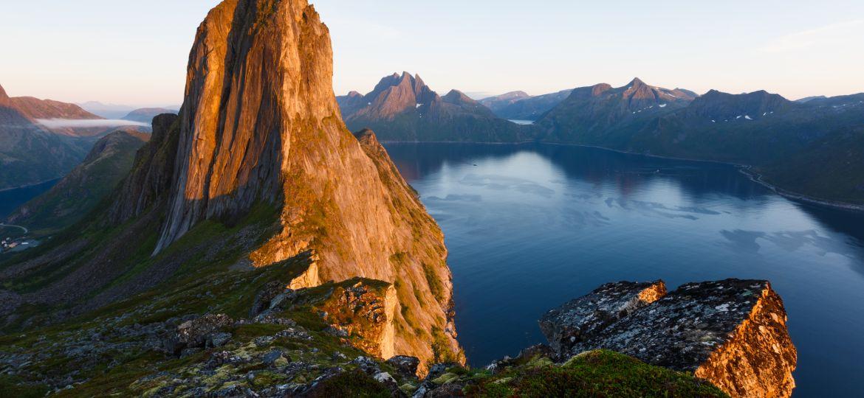 Norway. Location : Segla Peak on Senja in Troms